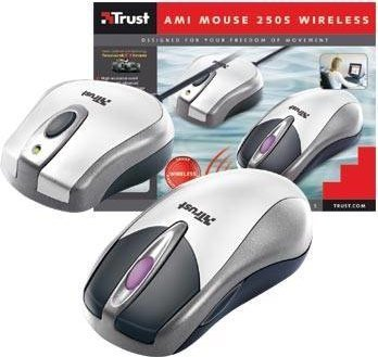 TRUST MOUSE AMI 250S WIRELESS Drivers for Mac