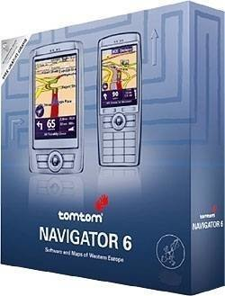 636926014489 TomTom Navigator 6 Software & Maps of Eastern Europe