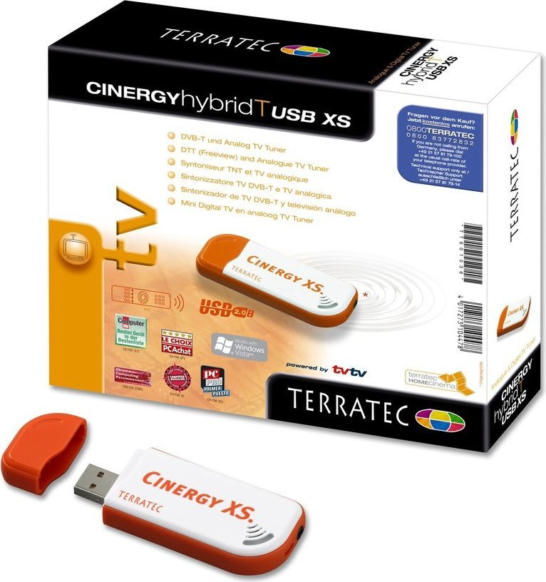 TerraTec Cinergy Hybrid T USB XS TV Tuner Drivers for Windows Download