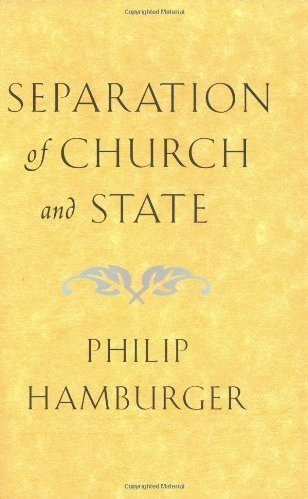 the separation of the church and state and the different interpretation of the first amendment