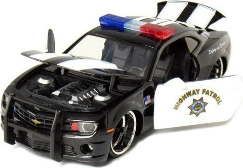 2010 Chevy Camaro SS 1:24 Scale Diecast Model Highway Patrol Police Car