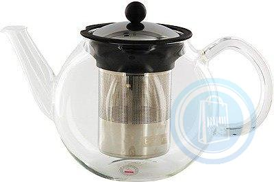 Bodum Shin Cha 34-Ounce Glass Tea Press with Stainless-Steel Filter 1803-16