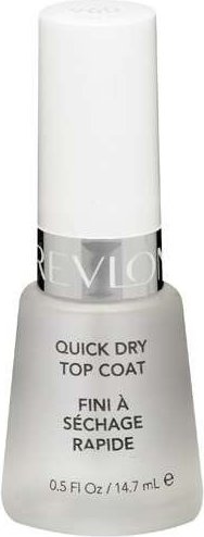 309978689942 Revlon Quick Dry Top Coat, 0.5 fl oz