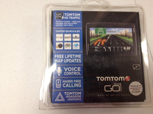 TomTom VIA 1530M 5-Inch Bluetooth GPS Navigator with Lifetime Maps and  Voice Recognition