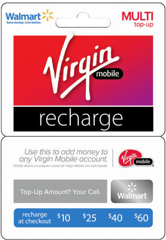 799366689218 Virgin Select Denomination Recharge Card
