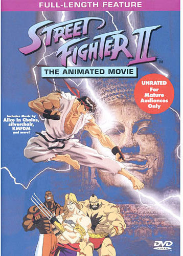 74644975390 9781573306881 Street Fighter Ii The Animated Movie