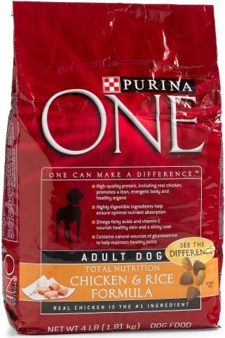 17800475556 Purina One Dog Dry Smartblend Chicken And Rice