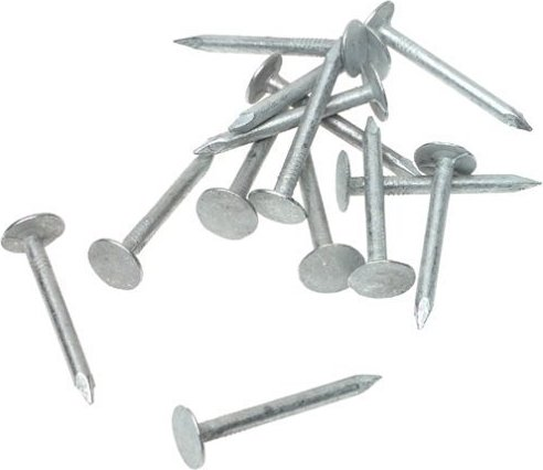 1 Grip Rite 1EGRFG5 5 lb Electro Galvanized Roofing Nails