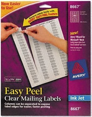 72782086671 999993012858 avery easy peel return address labels for
