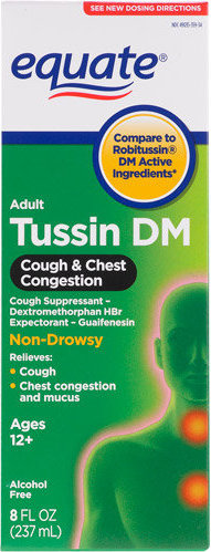 681131183925 Equate Tussin Dm Compare To Robitussin Dm Cough