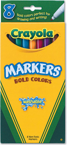 71662078362 crayola fine point washable markers classic colors