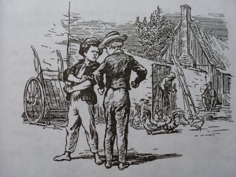a comparison of huckleberry finn and tom sawyer Adventures of huckleberry finn: tom sawyer's comrade by mark twain the story begins in fictional st petersburg, missouri (based on the actual town of hannibal, missouri), on the shore of the mississippi river forty to fifty years ago (the novel having been published in 1884.