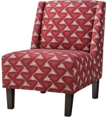 859217192325 photo#1 859217192325 ...  sc 1 th 236 & 859217192325 Hayden Armless Slipper Chair - Red Geometric