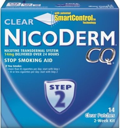 marketing perspective nicorette and nicoderm cq