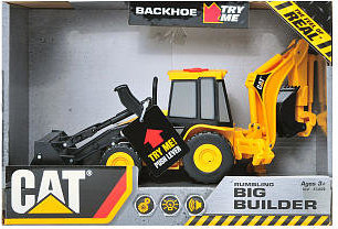 CAT Job Site Machines L&S Remote Control Vehicle - Backhoe