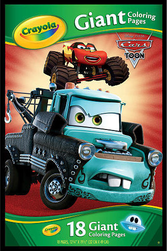 9900 Crayola Giant Coloring Pages Cars , Free HD Download