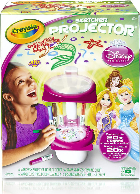71662170561 Crayola Disney Princess Sketcher Projector