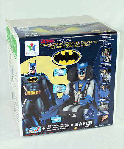 811722010273 Photo3 Photo4 The Batman Deluxe Combination Toddler Booster Car Seat