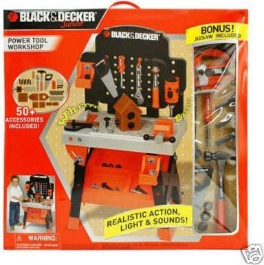 5a03e8149 45672901668 photo#1 45672901668 photo#2. From the ManufacturerBlack and Decker  Junior Power Tool Workshop ...