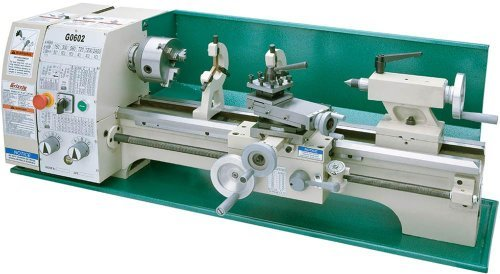Grizzly G0602 Bench Top Metal Lathe, 10 x 22-Inch