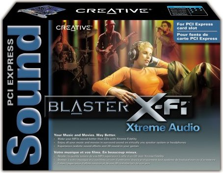 Drivers Sound Blaster X-Fi Xtreme Audio