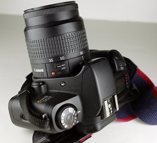 Details about Canon EOS Rebel G Film SLR Camera Kit with 35-80mm Lens -  Very Good