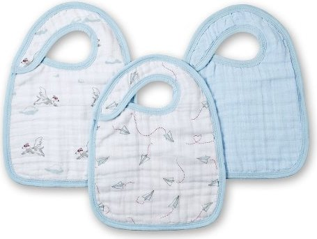 Aden and Anais Mod About Baby snap bibs 3 Pack