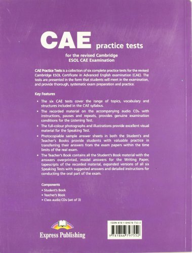 Cae Practice Tests Student Book