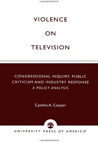 an analysis of television violence
