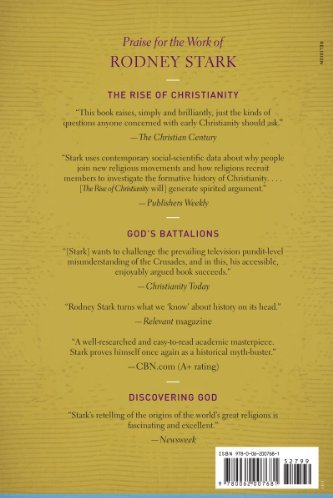 rise of christianity by rodney stark A star in the east: the rise of christianity in china (2015), with xiuhua wang the triumph of faith: why the world is more religious than ever (2015) bearing false witness: debunking centuries of anti-catholic history (2016) isbn 1599474999 articles john lofland and rodney stark.