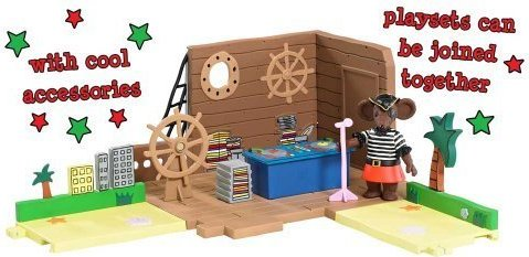 Rastamouse Playset - Pirate Radio Playset