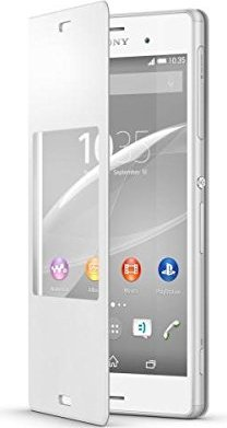 half off 64963 df03e Sony SCR24 Style Up Cover for Xperia Z3 - White