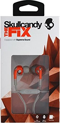 sello clima Abundante  878615060111 Fix Ear Bud with Mic for Phones - Retail Packaging -  Orange/Gray by Handytools