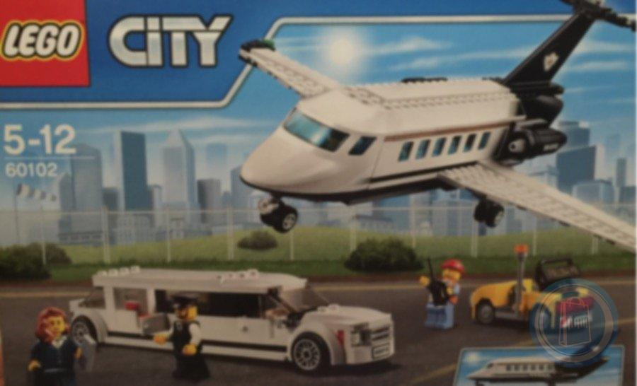 Lego City private jet and limousine 60102