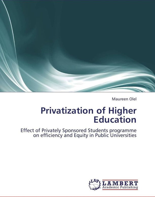 privatisation of higher education in indian I think privatization of higher education should be done so that quality of education may be improved according to my opinion, privatisation should be there in india to improve the literacy of increasing indian population but there should be a limit of no of privatised colleges to maintain the.