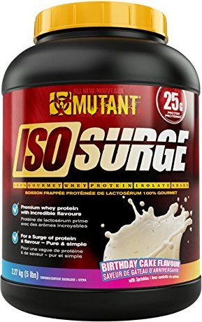 Mutant Iso Surge 227 Kg Birthday Cake Whey Protein Powder By